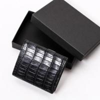 スモールクロコダイルボックス型コインケース