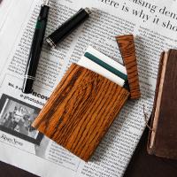 Oak Villageの木製カードケース