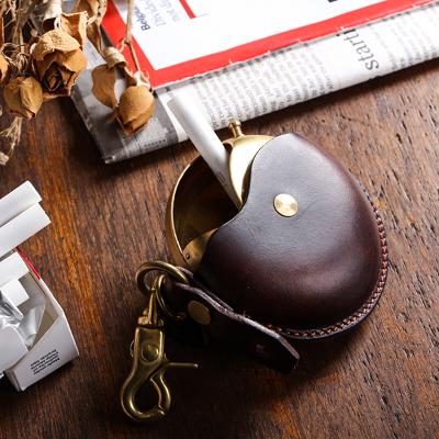 クランプ レザーマルチケース 携帯灰皿