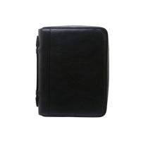 ダクト 牛革シュリンク ラウンドファスナー・A5サイズ6穴システム手帳 duct