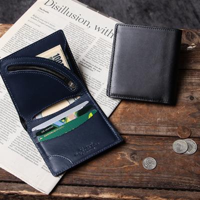 ヴィンテージ 二つ折り財布 tanned leather