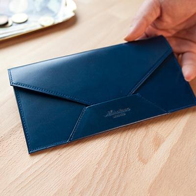 ムネカワの薄型長財布