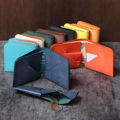 コインケースが取り外せる二つ折り財布
