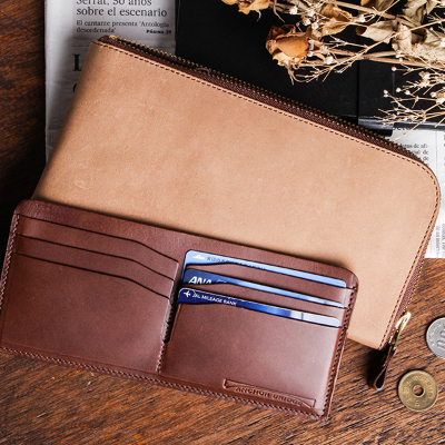 アンカーブリッジ Long Zip Wallet
