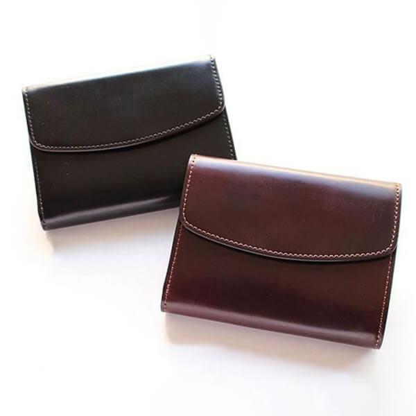 セッラトゥラ HORWEEN CORDOVAN 三つ折り 財布