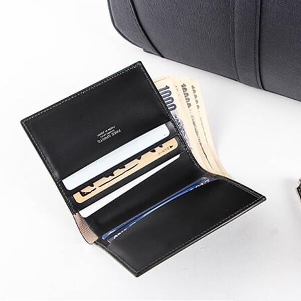 フリースピリッツ 二つ折り財布 超薄型 純札入れ