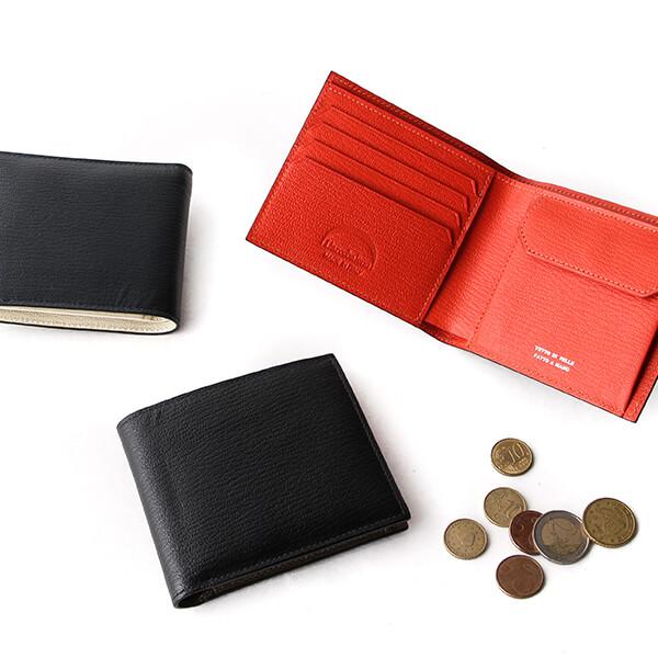 ラルコバレーノ 二つ折財布